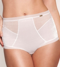 Gossard Glossies Deep Short White