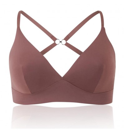 Ex Store Body Smoothing Non-Wired Non Padded Plunge Bra